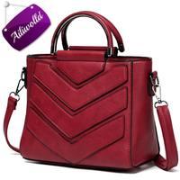 2017 New Women Bag PU Leather Handbags Ladies Crossbody Bags Trendy Luxury Tote Female Shoulder Messenger