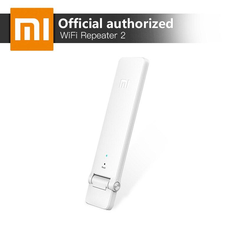 Xiao mi repetidor WiFi 2 versión en inglés de 300 Mbps señal mejora red amplificador Router inalámbrico antena