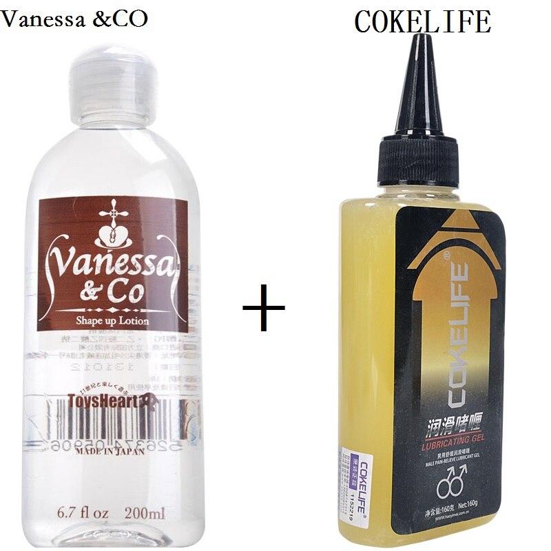 Vanessa & CO Japan Persönliche wasserlösliche Schmierung Vaginal Sex Anal Analgetische Schmiermittel Schmerzlinderung Anti schmerzen Anal Sex Öl