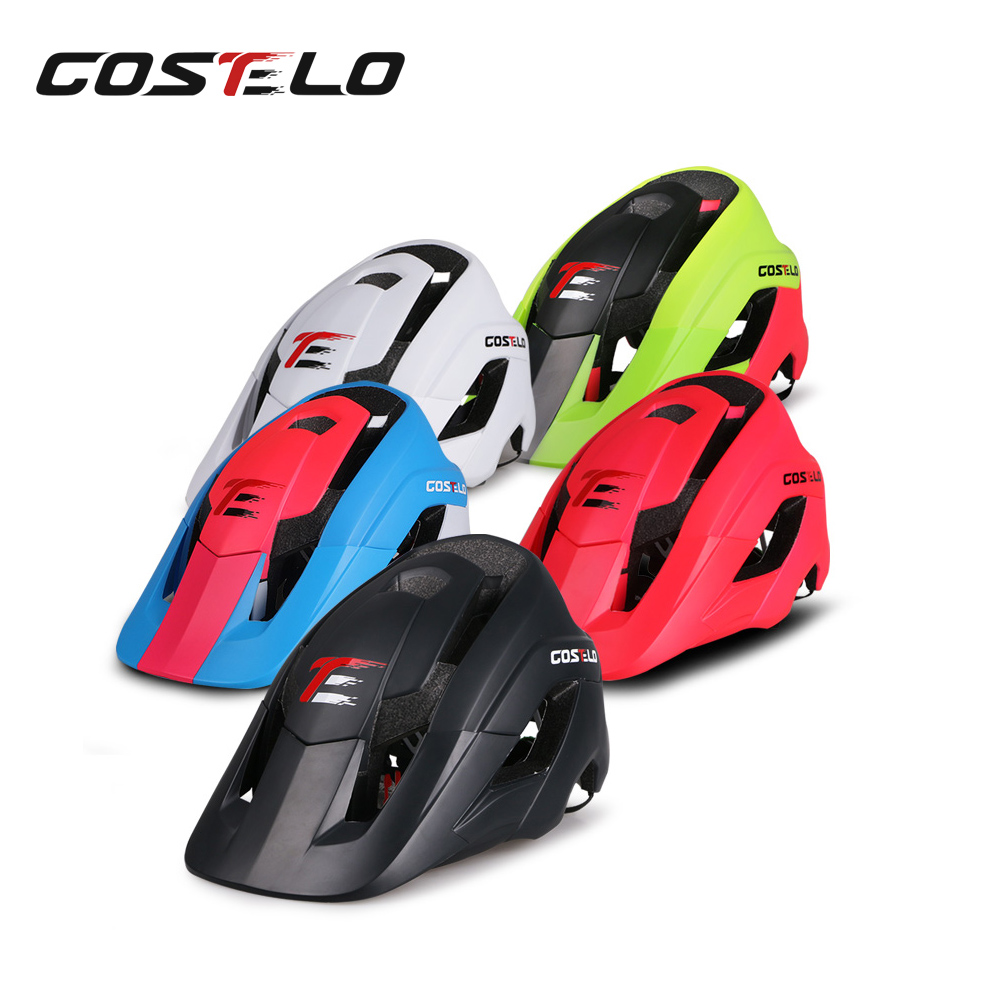 цены 2017 New Mtb Mountain bike helmet Casque bicycle helmet Cycle Helmet Capacete Ciclismo Casco Bicicleta L size High Quality