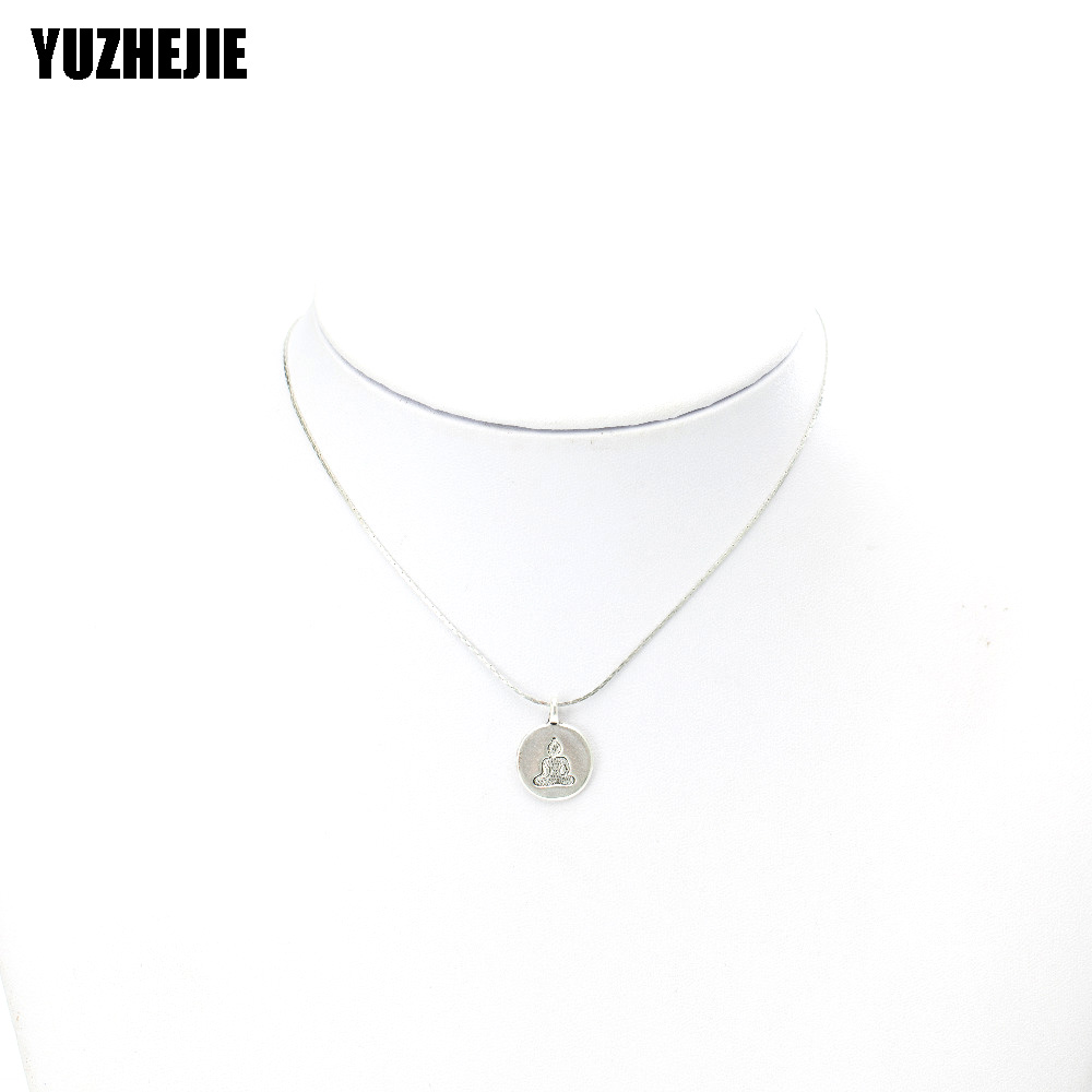 YUZHEJIE (10PC)Womens Mens Simple Alloy Frog tiger yaga football pendant Necklace Diverse Shape Necklace