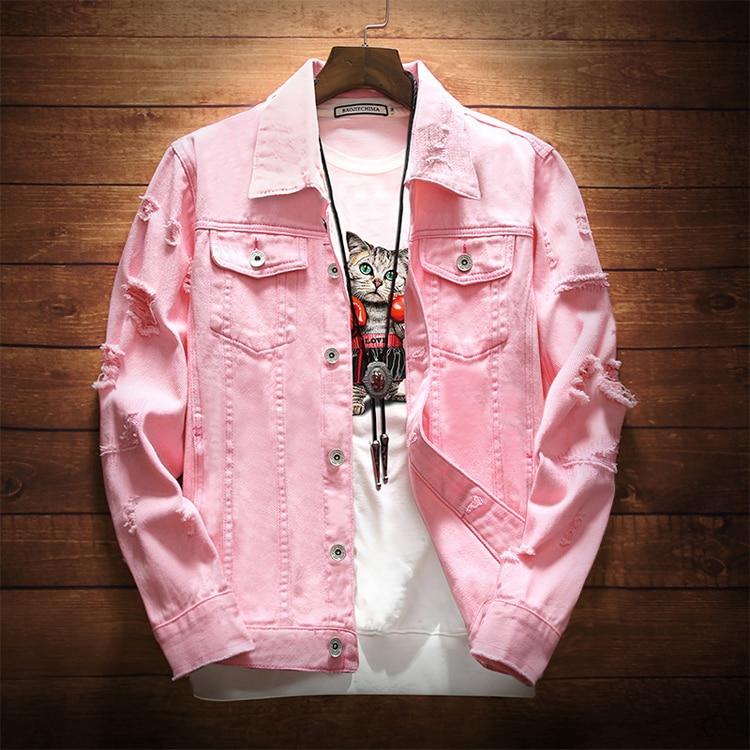 HTB1yZunbsfrK1Rjy1Xdq6yemFXag DIMUSI Mens Denim Jacket Trendy Fashion Hip Hop Streetwer Ripped Denim Jacket Mens Jeans Jacket Male Cowboy Coats 3XL,YA735