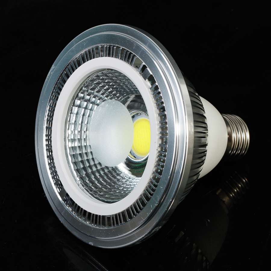 10X COB E27 20W LED Spot Light dimmable Cool White/Warm White AC85-265V Super Brightness 2000LM Wholesale 680lm mr16 7w cob warm white led spot bulb energy saving light 85 265v