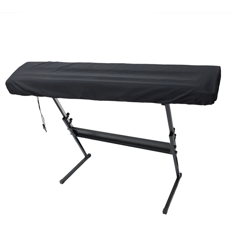 Electronic Piano Cover Piano Accessories Dust Proof Folding Waterproof Cover Piano Keyboards Durable With Drawstring Parts