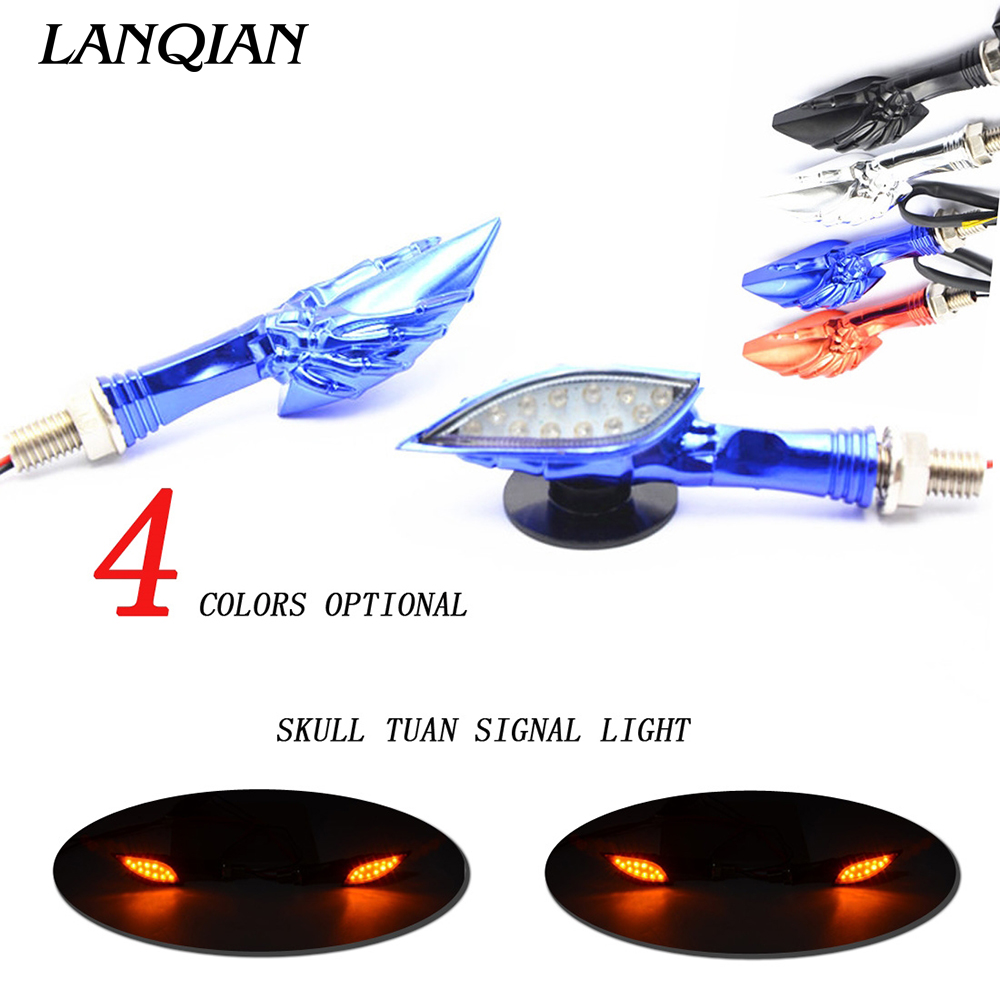 Motorcycle Turn Signal Indicators Light Universal Blinker Lamp For Suzuki GSXR GSX-R 600 750 1000 K1 K2 K3 K4 K5 K6 K7 K8 K9 high quality 7 pin turn signal flasher relay fr led indicator gsxr bandit 600 750 1200 gsx 1400 fits suzuki ca199