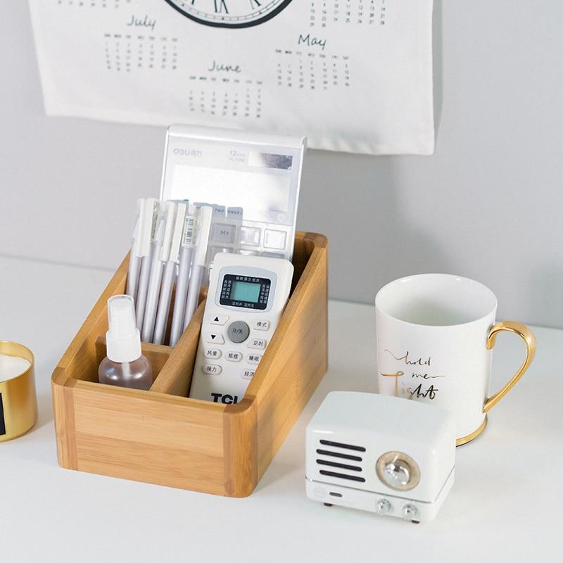 Japonijos stiliaus bambuko saugojimo dėžutės lentelės - Organizavimas ir saugojimas namuose - Nuotrauka 2