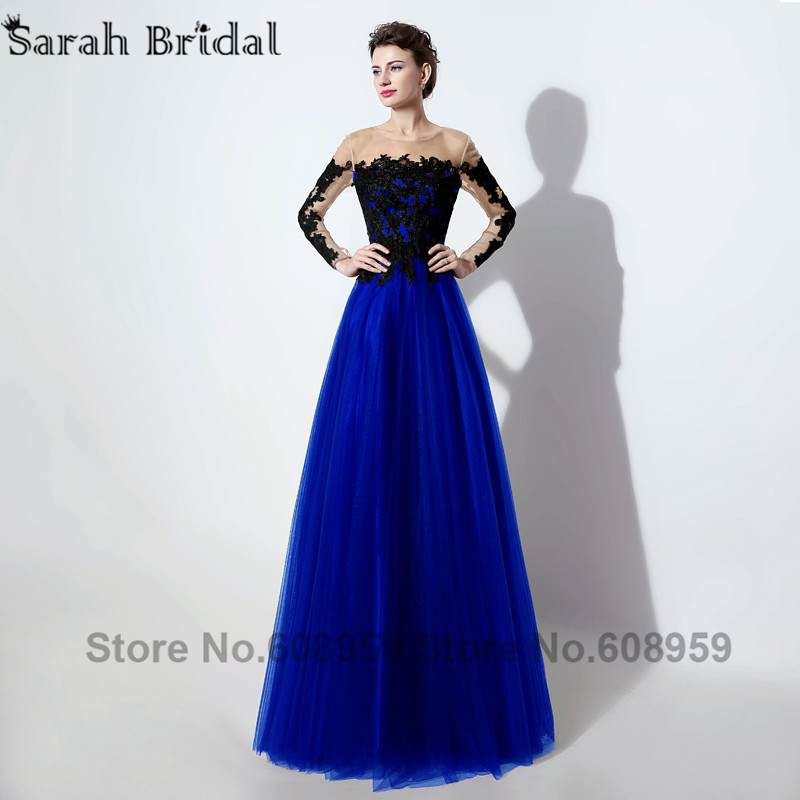 Popular Royal Blue Long Sleeve Dress-Buy Cheap Royal Blue Long ...