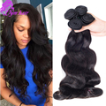 Grade 10A Body Wave Peruvian Virgin Hair 4 Bundles Unprocessed Peruvian Body Wave True To Length Peruvian Virgin Hair Body Wave