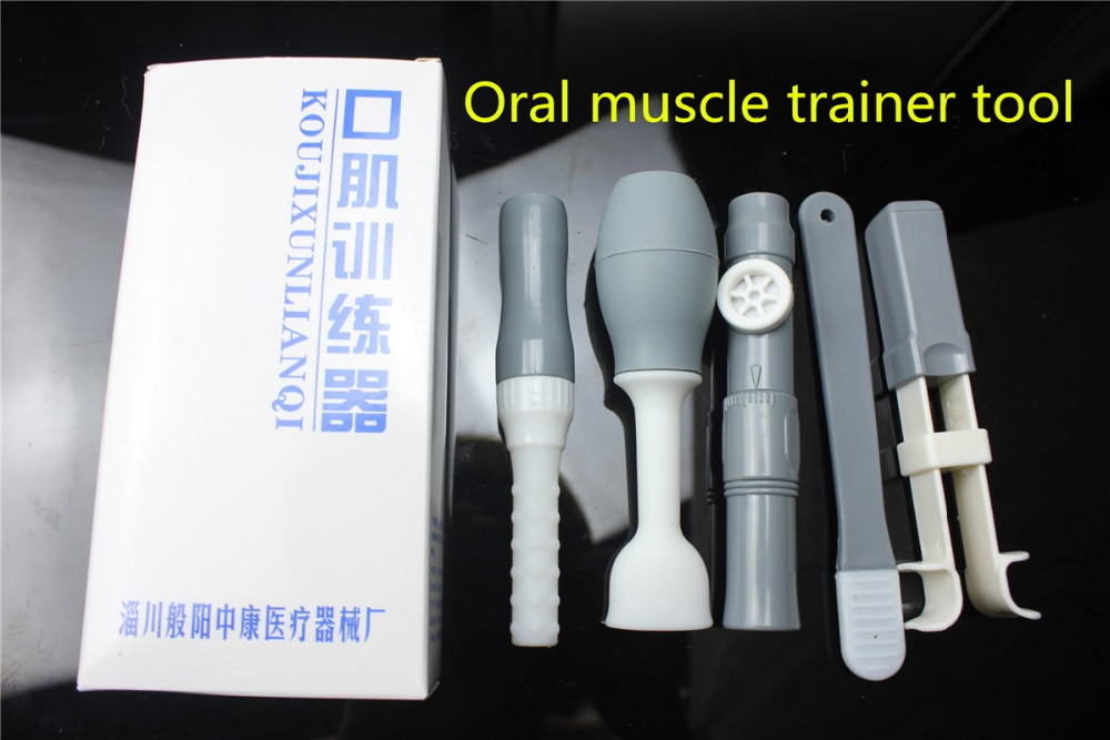 medical Tongue muscle rehabilitation Oral muscle trainer hemiplegia Tongue language swallowing disorder Therapeutic instrument цена