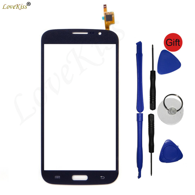 Front Panel For Samsung Galaxy Mega 5.8 i9150 i9152 GT-i9150 GT-i9152 Touch Screen Sensor LCD Display Digitizer Glass TP Replair
