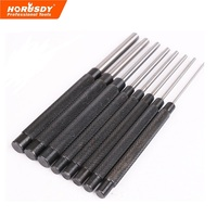 8 PC Pcs Long Pin Punch Tool Set 2 4mm 10mm 3 32 3 8 Hand