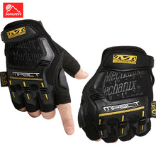 цена на Half Finger Cycling Gloves Men Women Outdoor Tactical Gloves Military Fitness Sport Glove Breathable Fingerless Gloves Male