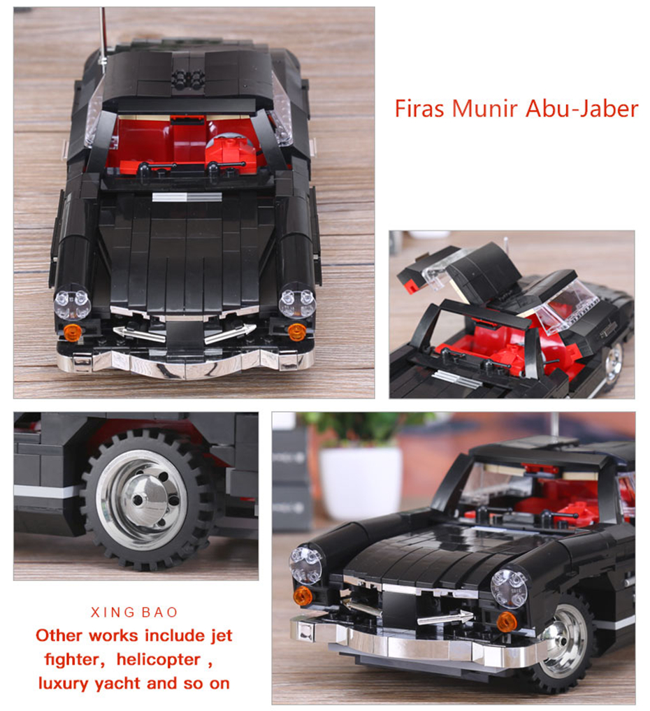 XINGBAO XB-03010 Mercedes Benz 300 SL PHOTIPONG Building Block 15
