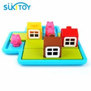 Image 2 - הסתר & Seek 48 ילדי מונטסורי החינוכי רך צעצועי הכשרת IQ אתגר ופתרון צעצועים אינטראקטיביים יצירתיים אינטליגנטית