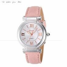 Novo 2016 relógios relógio horas presente de Moda das Mulheres Das Senhoras Genebra Relógio de Algarismos Romanos Couro Banda de Pulso de Quartzo Da Menina Das Mulheres 1130d20