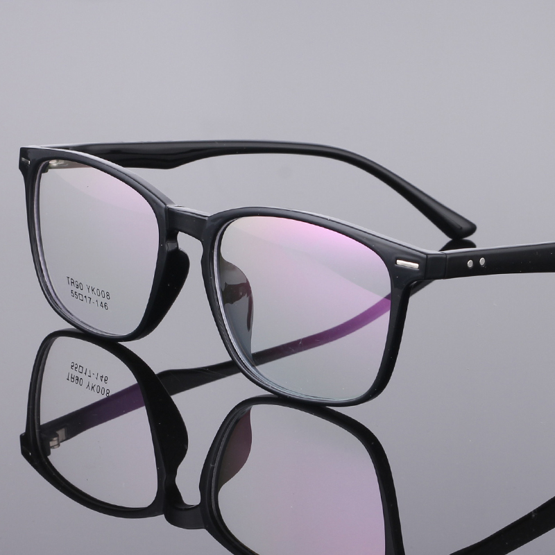 Image 2 - TR90 Glasses Frame Clear Fashion Myopia Glasses Frame Men Optical Eyeglasses Frame Women Prescription Glasses 08-in Men's Eyewear Frames from Apparel Accessories on AliExpress