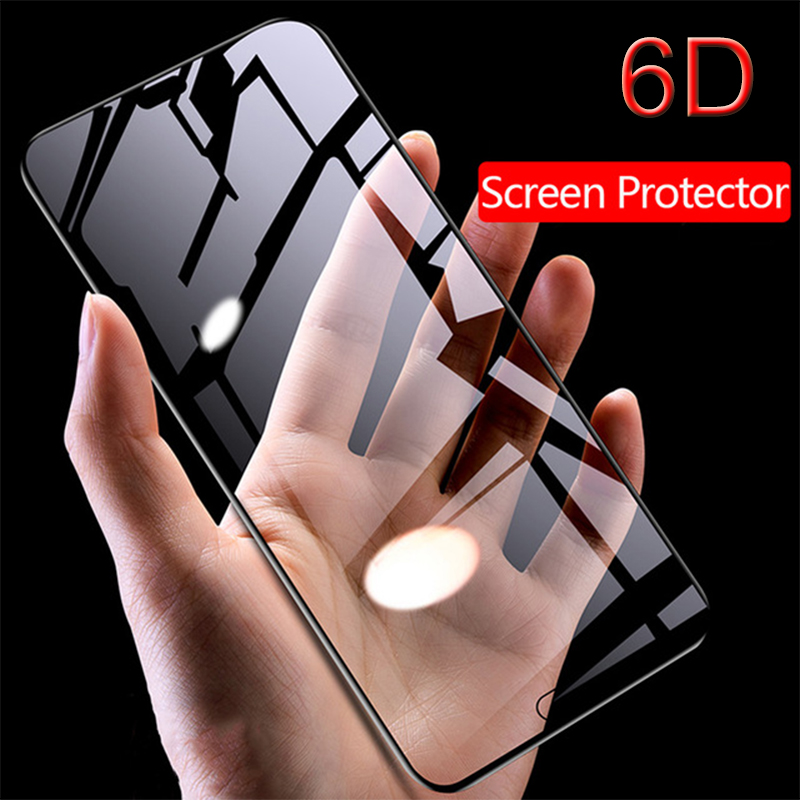 6D Tempered Glass For Huawei Honor 10 20 Pro 10 Lite Curved Edge Glass Film For Honor 8X 9X Pro Smart Z 2019 Honor 9i 10i 20s