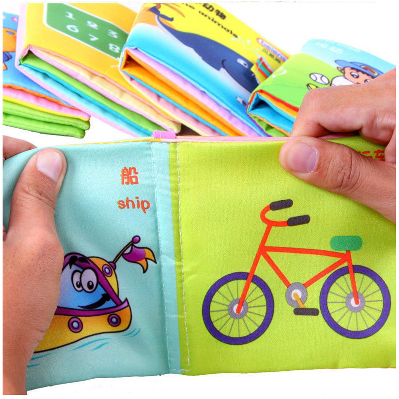 Soft-Squeaky-Cloth-Book-Baby-Toy-Teether-Kids-Early-Learning-Education-Animals-Book-Soft-Baby-Rattles-Infant-Toys-2