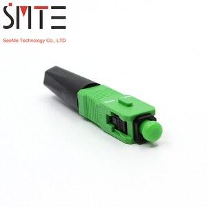 Image 2 - 100 pz/lotto ZF 8802 TLC/3 60 millimetri connettore SC/APC fibra Ottica connettore In Fibra ottica FTTH