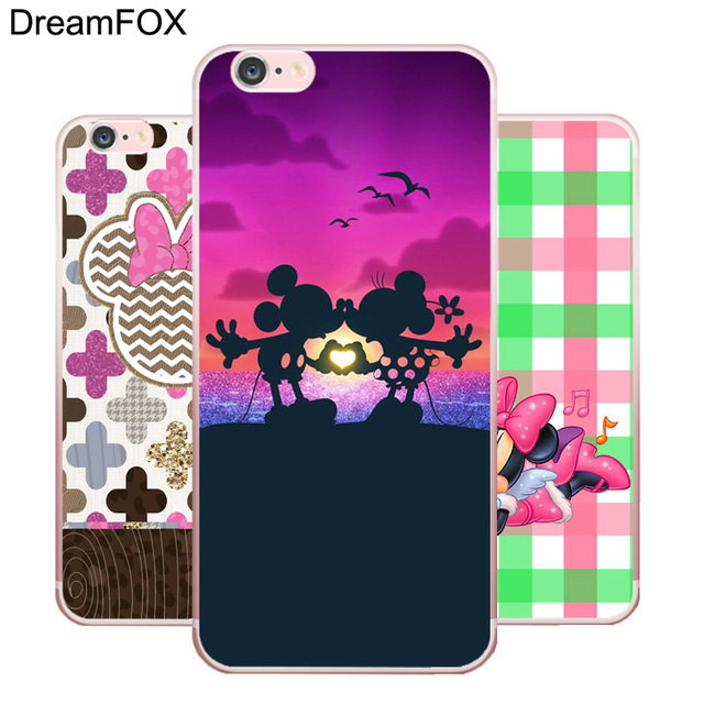 DREAMFOX L161 Fashion Mickey Mouse Soft TPU Silicone  Case Cover For Apple iPhone X XR XS Max 8 7 6 6S Plus 5 5S SE 5C 4 4S
