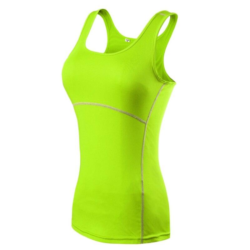 Плюс Размер S-XXL Сжатия Под Базовые Одежда Женская Рукавов Топы Дамы Случайные Рубашки Скины Cami Vest 2017