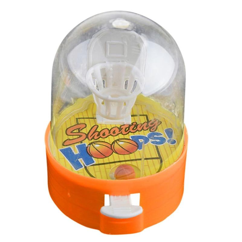 1PC Developmental Basketball Machine Anti-stress Player Handheld Children Toys Gift Wooden Toys For Kids Toys A1