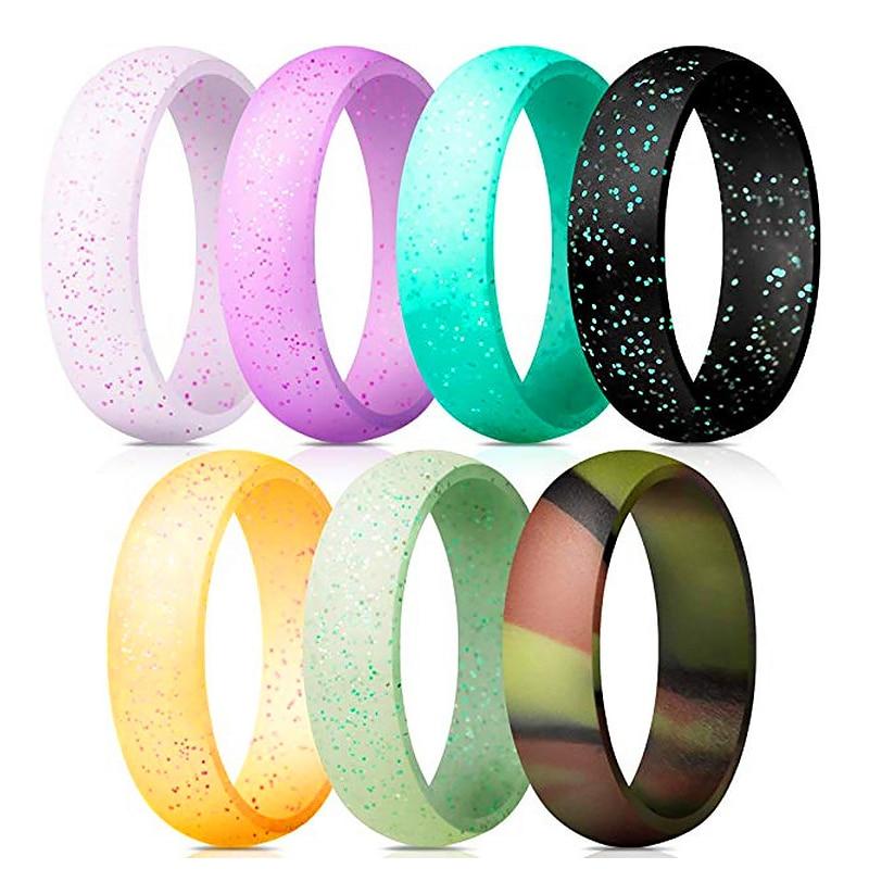 1 комплект, силиконовое кольцо унисекс, для спорта