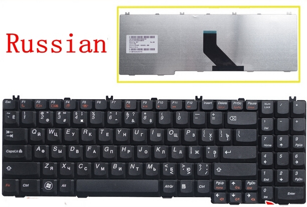 Russian  NEW Keyboard for Lenovo B560 B550 G550 G550A G550M G550S G555 G555A G555AX RU  laptop keyboard