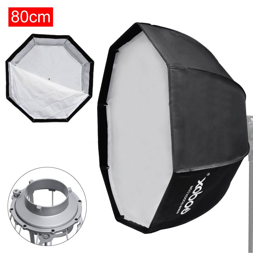 "Godox Umbrella Softbox Price In Pakistan: Godox 80cm / 32"" Octagon Umbrella Quick Setup Softbox"