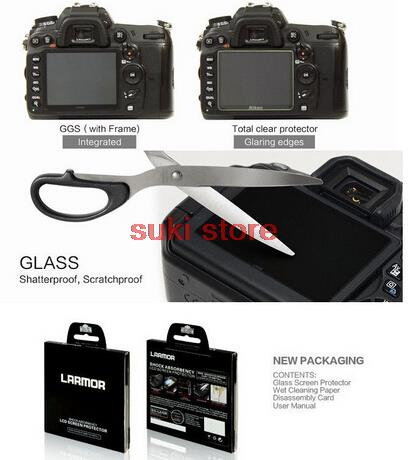 Camera Larmor Ggs Self Adhesive Optical Glass Lcd Screen Protector