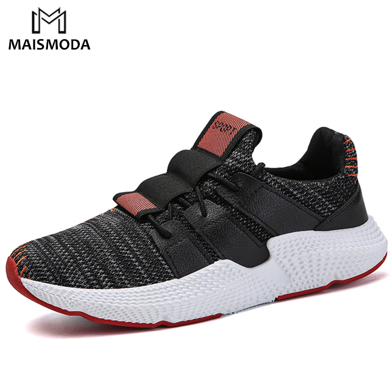 MAISMODA 2018 New Summer Mesh (Air mesh) Men Breathable Shoes Spring Lightweight Fashion Flats Men Casual Shoes YL137