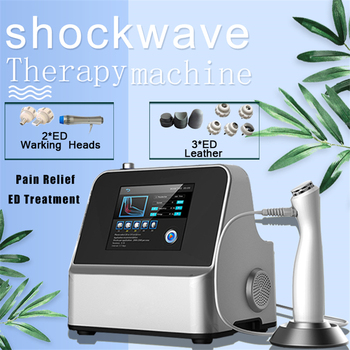 Pain System Slimming Shock Wave Machine Weight Loss Ultrasonic Radia Collagen Formation Spa erectile dysfunction ED management
