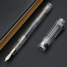 Transparent Fountain Pen Ink Gift Package School Supplies 0.5mm Office Supplies Office Accessories Pen Ink Pen High Quality unicorn fountain pen cute gift set school supplies 0 5mm office supplies office accessories pen ink pen high quality gift pen