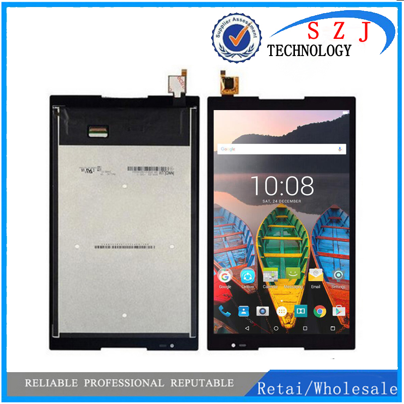 New 8'' inch For Lenovo Tab S8-50 S8-50F S8-50L S8-50LC Tablet PC LCD Display + Touch screen Glass Sensor Assembly new 8 inch for lenovo tab s8 50 s8 50f s8 50l s8 50lc lcd display touch screen digitizer glass lens assembly free shipping