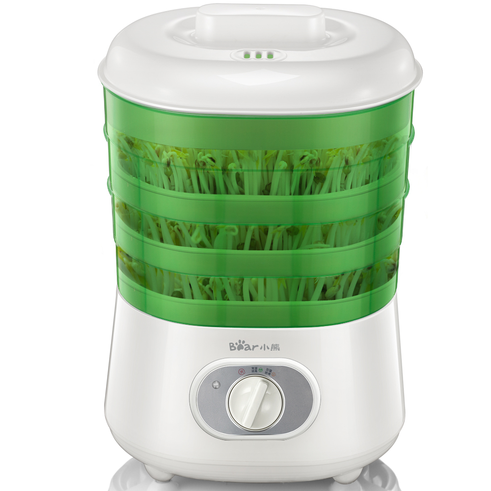 220V Bean Sprout Machine 3 Layers Full-automatic Multifunctional  Bean Sprouts Machine Household Healthy Food Processor Maker