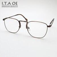 ITAOE Walter White Full Rim Breaking Bad Style Alloy Men Myopia Reading Optical Eyewear Frames Glasses Spectacles