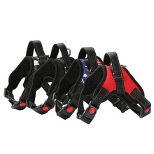 New Nylon Dog Harnesses Comfortable Breathable Firm and Durable Pet for Medium-sized Big Collar