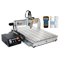 Chinacnc Metal Cutting Engraving CNC 8060 4axis 2200W Water Cooling Carving Machine
