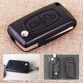 CITALL CE0536 Neue 2 Tasten Car Remote Flip Key Fob Fall Shell Fit für Peugeot 207 307 308 407-in Schlüsseletui für Auto aus Kraftfahrzeuge und Motorräder bei