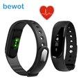 Smartband ID101 Banda Inteligente com Bluetooth 4.0 Heart Rate Monitor Pedômetro de Fitness Inteligente Rastreador Relógio para iOS Android