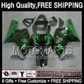 8Gift  For SUZUKI GSXR750 2004 2005 Green flames GSXR600 K4 2JK886 GSX R750 R600 04-05 GSXR 750 600 Green black 04 05 Fairing