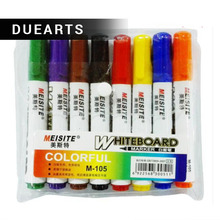 GOOD Whiteboard Pen A Variety Of Color Erasable Marker Easy Clean Water Special Teaching  Dry Erase Markers /C004 Time limited