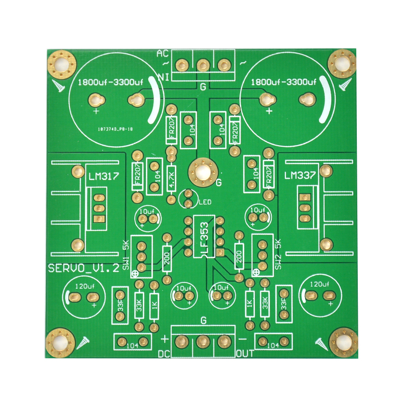 Dual Adjustable Power Supply Using Lm 317 Lm337