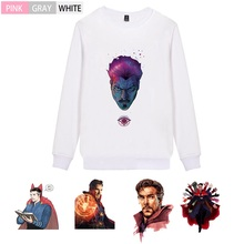 Doctor Strange Marvel Movie Pattern Flannels O-NECK Cotton Sweatshirts Teen Winter Unisex Pullover A193291