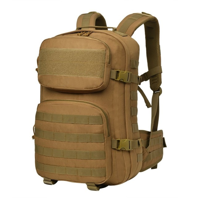 Mountaintop Military Tactical Assault Backpack Army Molle Webbing Waterproof  600D Polyester Rucksack for Army fan c26c7bf512b19