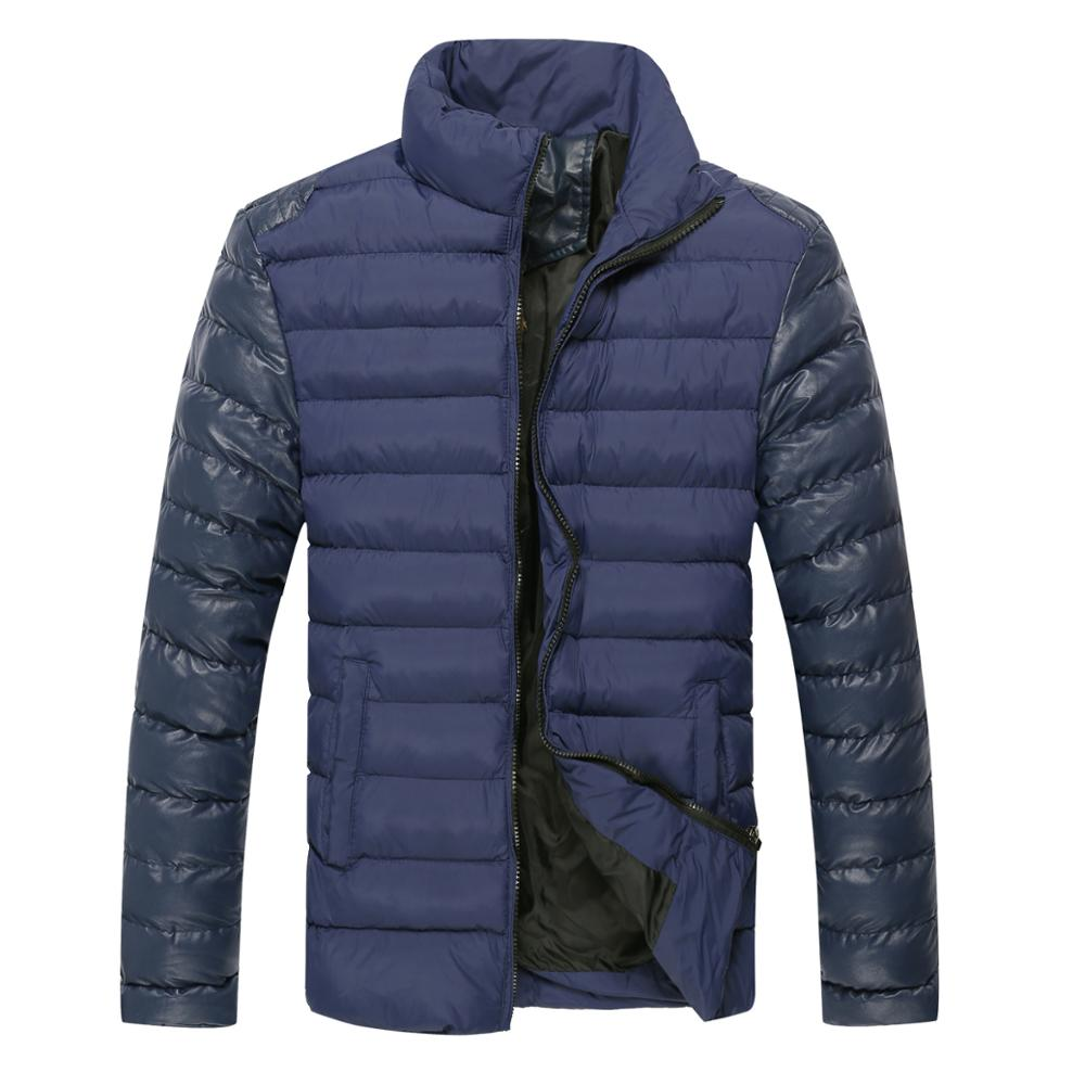 Wholesale high quality Free shipping 2 COLORS PLUS size M 3XL winter jacket men men s