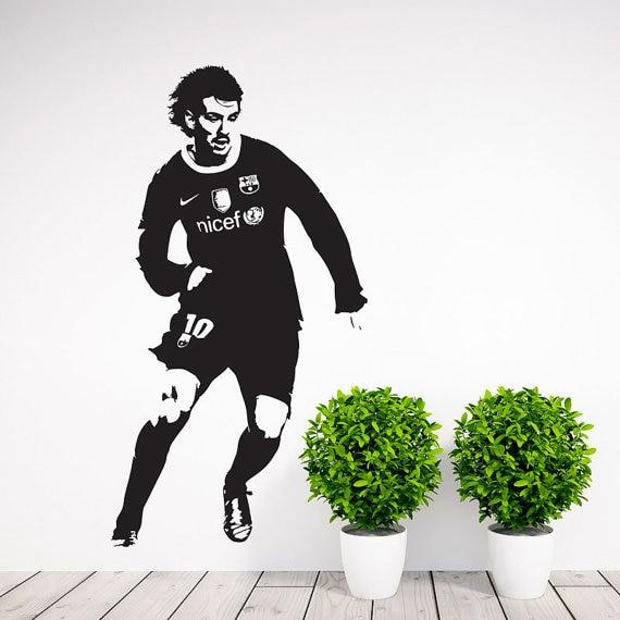 Jugador de fútbol etiqueta de la pared fútbol etiqueta de la pared - Decoración del hogar - foto 2