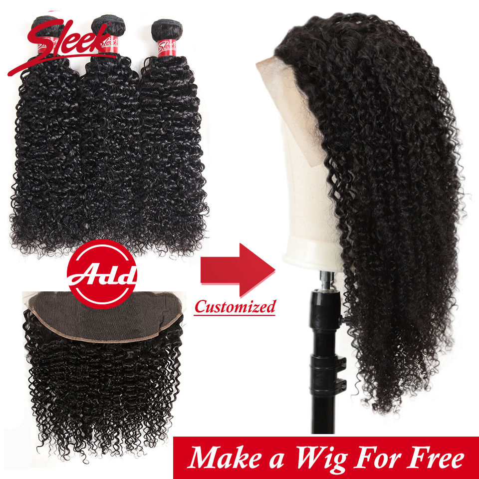 Sleek short lace front human hair wigs kinky curly lace front wig brazilian natural hair Curly