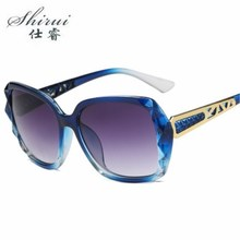 Vintage Big Frame Sunglasses Women Brand Designer Gradient Lens Driving Sun glasses UV400 Oculos De Sol Feminino цена 2017