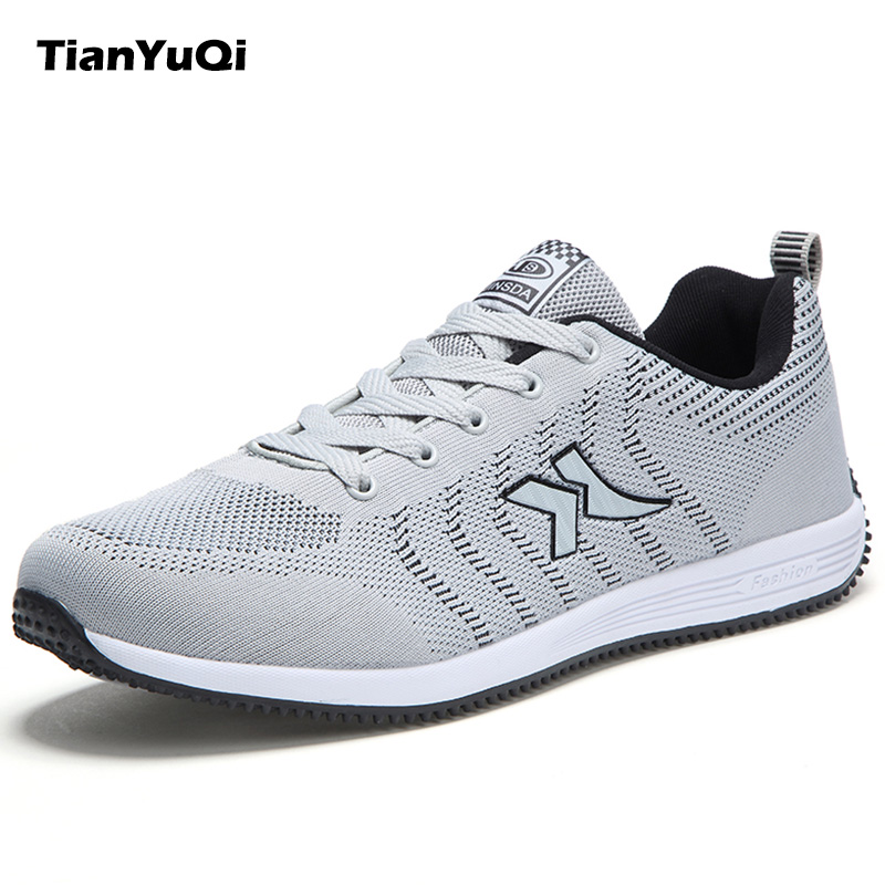 TianYuQi Men Plus Size Shoes Spring Autumn Casual Shoes Breathable Fabric Shoes High Quality Footwear Lace Up Soft Flats g45fmdvp32db 32m pci card f7003 0301 100